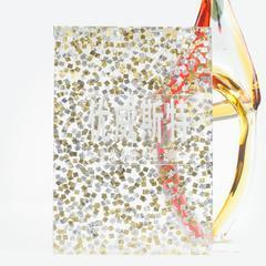 UVST-K0015 Small Gold金属树脂板