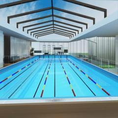 钢结构泳池拆装式游泳池
