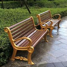 铸铝园林椅