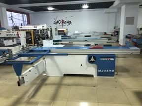 上海木工简易推台锯新型简易木工推台锯木工机器精密锯