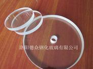 3.3高硼硅视镜玻璃  硼硅钢化玻璃  耐高温玻璃