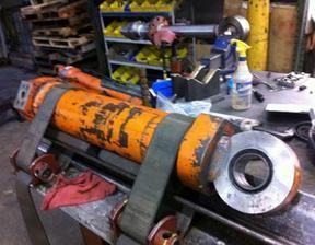 杭州打桩机液压油缸维修 油缸修复定做