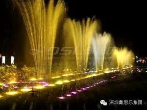 美观实用喷泉景观-戴思乐音乐喷泉