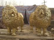 动物铜雕,狮子铜雕,马雕塑,