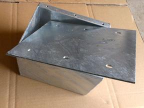 防爆接线盒 人防密闭接线盒 国标热镀锌3mm 180*150*120