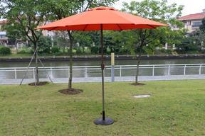 户外遮阳伞庭院阳台太阳伞室外遮阳大伞沙滩遮阳伞星巴克酒吧伞