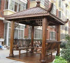 内蒙古塑木凉亭安装施工,青海塑木凉亭厂家供应商