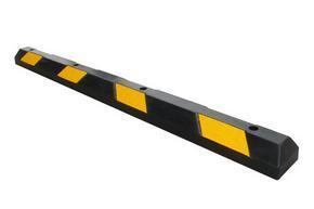 2米长大车定位器-橡胶防撞车轮器-限位器