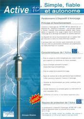 法国富兰克林避雷针 1D/2D