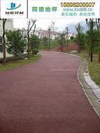 滨州透水混凝土/滨州透水路面/滨州彩色透水混凝土艺术地坪/滨州彩色混凝土