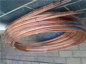 20*3电镀铜包钢扁钢可定做成盘运输装卸方便
