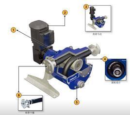 GRACO固瑞克S0loTech 30电动软管泵蠕动泵交流电机泵无刷电机泵