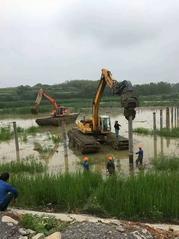 北京厂家作业租赁水陆挖掘机、水上挖掘机改装