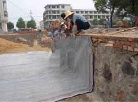 复合土工布施工,应用范围