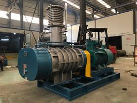 邵阳市金属加工行业污水处理RTSR125蒸汽压缩机