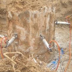 钢筋混凝土替代风镐破碎锤拆除最佳设备