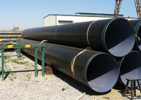 新乐输水管网螺旋钢管价格