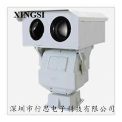 红外热成像,可见光镜头光电转台双光谱云台摄像机