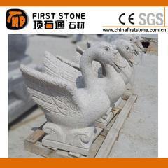 锈石天鹅雕刻喷泉GAF338