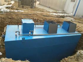 地埋式污水处理设备成功解决北京小区污水问题