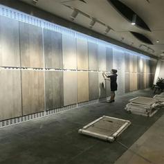 800瓷砖展板  陶瓷展示架厂家 石材冲孔板