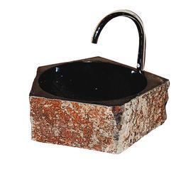 黑色花岗岩洗菜盆KS0103G