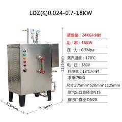 电加热蒸汽锅炉9-18KW电蒸汽发生器