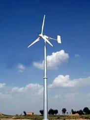 风力发电机组的原理分类及各自特点
