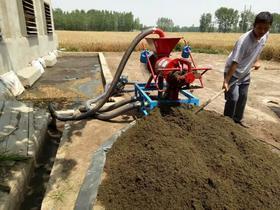 小型粪便处理固液分离干燥机养殖脱水机