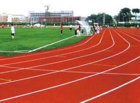桂林预制型塑胶跑道 预制型塑胶跑道厂家直销