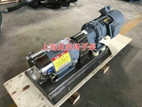 食品级转子泵 凸轮转子泵-上海亚泉泵业