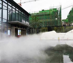 室外 假山 水池 造景 工厂降尘 降温