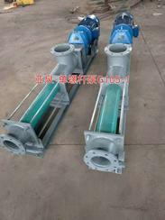 上海亚泉泵业G型单螺杆泵 不锈钢螺杆泵 污泥螺杆泵厂家 价格 图片 选型