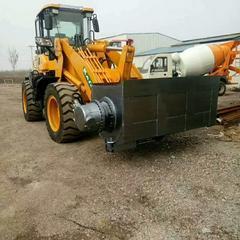 批发铲车斗式液压搅拌机 铲车斗式搅拌机 移动式搅拌装载