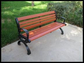 宁夏塑木厂家,银川公园椅子厂家