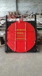 恒贝奥水利专业生产铸铁圆闸门 气动闸门 拱型铸铁闸门 平面滑动钢闸门  平面定轮钢闸门