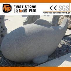 花岗岩鱼石雕GAB538
