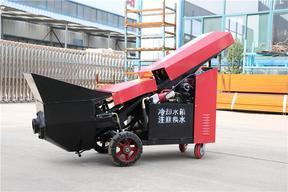 二次结构浇筑泵混凝土输送上料机价格