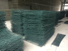 工厂现货格宾网,绿滨垫,铅丝网笼