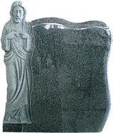 混合花岗岩墓碑石GME076