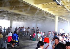 喷雾降温设备人造雾降温