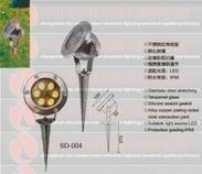 专业生产不锈钢led地插灯5w6w