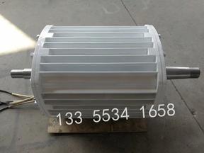 湖北荆州低转速永磁 5000瓦两边出轴的风力发电机