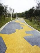 透水混凝土专业地坪施工厂家服务包工包料园林景观