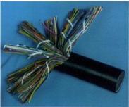 矿用阻燃阻燃通信电缆 30*2*0.8 MHYAV 50*2*0.8矿用通信电缆