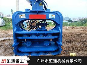 最大挖掘机打桩机 基础打桩 钢板打桩