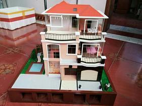 智能家居演示模型,展示沙盘效果图设计制作