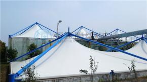 反吊膜结构之郑州污水池反吊膜对膜材的要求