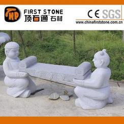 花岗岩古代书童长凳GCF273