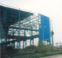 钢结构厂房彩钢瓦安装